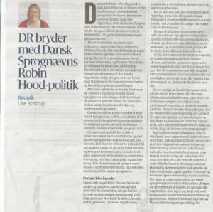 Kronik i Berlingske Tidende af 3. juni 2018